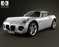 Pontiac Solstice Coupe 2009 3D Model