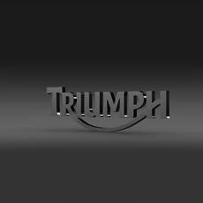 Triumph 3d Logo 3D Model