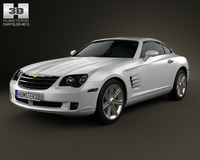 Chrysler Crossfire coupe 2003 3D Model