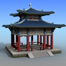 Chinese Architecture 11 3D Model