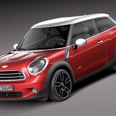 Mini Cooper Paceman ALL4 2014 3D Model
