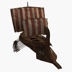 Greek Tertere 3D Model