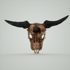 07 27 18 706 skull mark florquin goat dragon 3d render 4 4