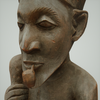07 27 26 92 mark florquin dogon smoking man 3d model render face 4