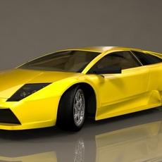 Lamborgini Rig 3D Model
