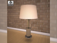 Ashley Norma Table Lamp 3D Model