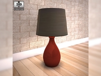 Ashley Jemma Table Lamp 3D Model