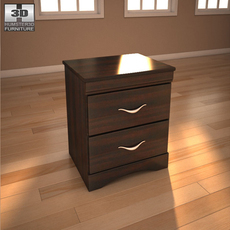 Ashley X-cess Nightstand 3D Model