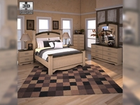 Ashley Olivia Bay Poster Bedroom Set 3D Model