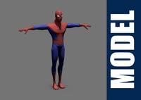 Spiderman 3D Model