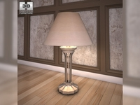 Ashley Olivia Bay Table Lamp 3D Model