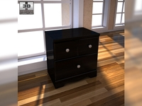 Ashley Shay Nightstand 3D Model