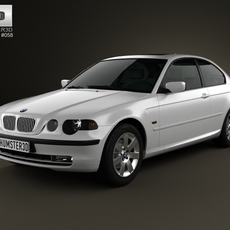 BMW 3 Series compact (E46) 2004 3D Model