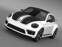 VW Beetle GSR 2013 3D Model