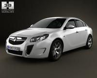 Vauxhall Insignia VXR hatchback 2012 3D Model