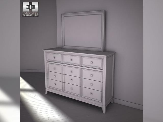 ashley martini suite storage bedroom set 3d model 404 not found
