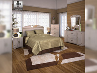 Ashley Havianna Panel Bedroom Set 3D Model