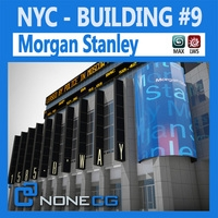 NYC Building Morgan Stanley 3D Model