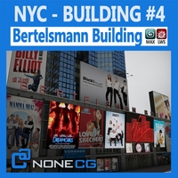 NYC Building Bertelsmann 3D Model