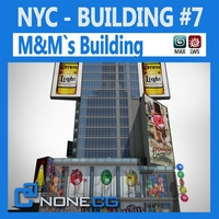 NYC Building M&M´s 3D Model