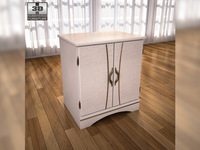 Ashley Havianna Night Stand 3D Model
