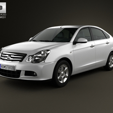 Nissan Almera (G11) 2012 3D Model