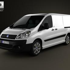 Fiat Scudo Panel Van L2H1 2011 3D Model