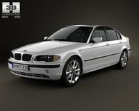 BMW 3 Series sedan (E46) 2004 3D Model