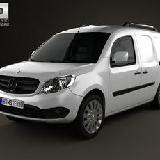 Mercedes-Benz Citan Delivery Van 2012 3D Model