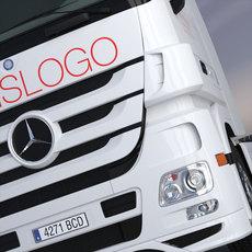 Mercedes Actros SpaceCab Truck 3D Model