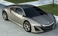 Acura NSX 2013 3D Model