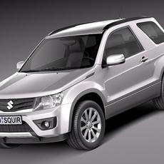 Suzuki Grand Vitara 2013 3-door 3D Model