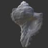 07 31 05 357 murex ramosus mark florquin sea shell 3d model render wireframe 4