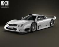 Mercedes-Benz CLK-class GTR AMG 1999 3D Model