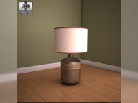 Ashley Karissa Table Lamp 3D Model