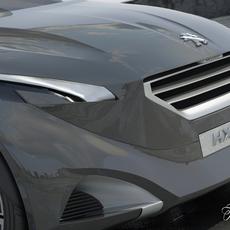 Peugeot HX1 2.0 3D Model