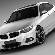 BMW 3 GT M package 3D Model