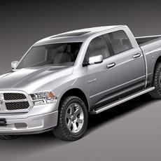 Dodge Ram HFE Crew Cab 2013 3D Model