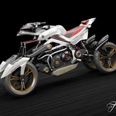 Yamaha Tesseract 3D Model