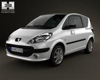 Peugeot 1007 2008 3D Model