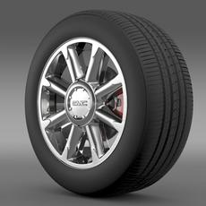 GMC Denali wheel 3D Model