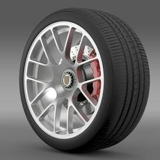 Porsche 911 Turbo wheel 3D Model