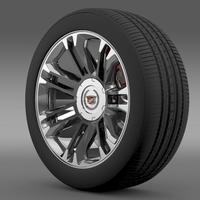 Cadillac Escalade 2013 wheel 3D Model