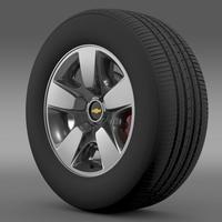Chevrolet Suburban DE wheel 3D Model