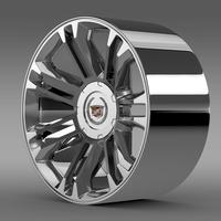 Cadillac Escalade 2013 rim 3D Model