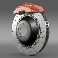 Brakedisc Brembo 3D Model