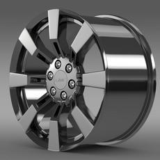 GMC Denali Hybrid rim 3D Model
