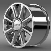 GMC Denali rim 3D Model