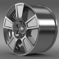 GMC Sierra Regular cab rim 3D Model
