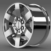 GMC Yukon Heritage Edition rim 3D Model
